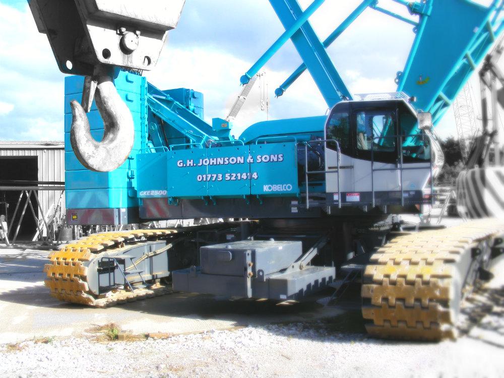 Telescopic Crane Hire : Lattice boom crawler crane hire telescopic